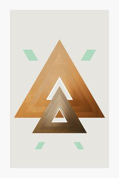 Series 1, project#1 #art #abstract #geometric #digital #shape #triangle #color #AnthonyScime