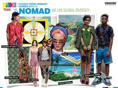 vsns 16°ed. SS 2013/14 on Behance #seminar #add #fashion #menthol #trend