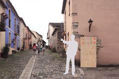 Villa de Granadilla, pictogramas y señalética on the Behance Network #signage