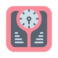 See more icon inspiration related to weight, scale, healthcare and medical, Tools and utensils, weight scale, diet and electronics on Flaticon.