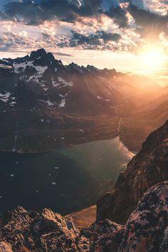 #mountains #sky #sunset #sunrise