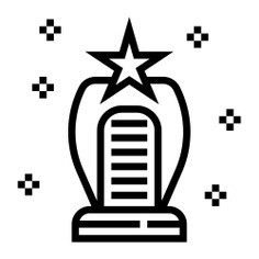 See more icon inspiration related to prize, sports and competition, champion, winner, win, award, trophy, star and cup on Flaticon.