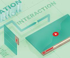 .NET MAGAZINE on the Behance Network #user #interface #illustration #net #magazine #typography