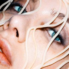 Surreal Close-ups of Model's Lips by Marius Sperlich