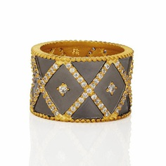 Signature Cigar Band Ring – Freida Rothman | Price: $95.00 | Product details @ https://bit.ly/2uhPWHQ. Buy now! #Rings #Jewelry #Fashion #FreidaRothman #NYC #NewYork #Brooklyn