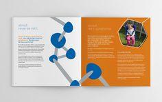 Reverse Rett programme #brochure #programme #illustraion