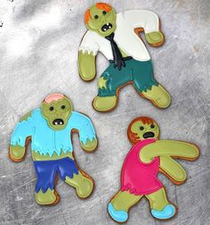 Undead Fred Zombie Cookie Cutters #gadget
