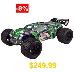 VRX #Racing #RH818 #2.4G #4WD #High #Speed #RC #Monster #Trunk #- #RTR #- #GREEN