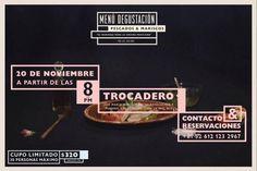Cena Maridage by Chef Ale Salinas :: Poster design / La Paz, Mexico