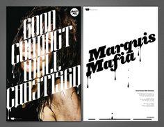 Marquis Mafia - Brett Peter Stenson #design #typography #logo #poster #music #brett stenson #marquis mafia