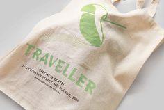 Traveller #logotype #sack #branding #tcyk #burlap #bag