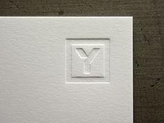 Eric Yerke - Anthony Lane - Logo, Branding and Identity Design | Minneapolis, MN #emboss #branding #print #lane #symbol #identity #anthony