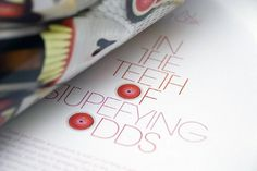 Ernst Lass Design #layout #magazine #typography
