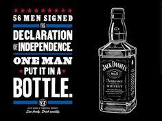 Jack Daniel's #print #design #poster #whiskey