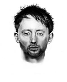 RADIOHEAD by ~MazeFall on deviantART #radiohead #drawings #minimalistic #illustrations #clean #illustration #music