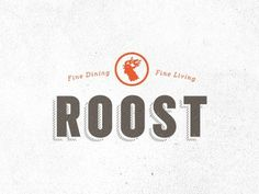 Dribbble - Roost by Jake Dugard #logo