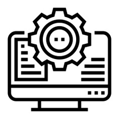 See more icon inspiration related to cms, monitor, gear, edit, cogwheel, screen, ui, construction and tools, edit tools, electronics, web programming, software, interface, web design and computer on Flaticon.