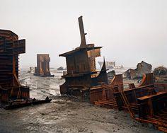 Shipbreaking #10 Chittagong, Bangladesh, 2000