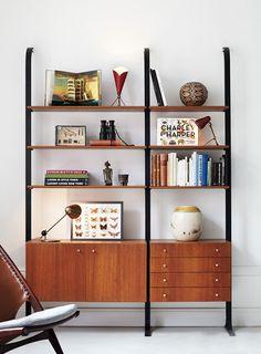 Minimal #bookcase #organized #clean
