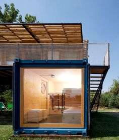 Small Mobile Hotel Made From Three Shipping Containers 6
