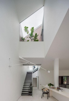 Through Residence, Hier Architects 8, stairs