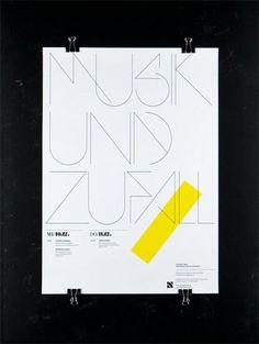 Clik clk – Blog d'inspiration » Dirk König #dirk #type #poster #konig