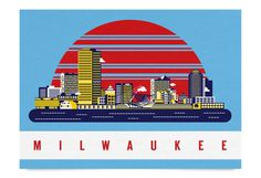 milwaukee.png #city #illustration #building #milwaukee