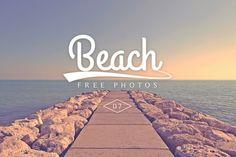Beach Stock Photo Set