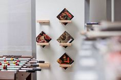 "Simple ""360 Shelf"" Design by Luka Pirnat #interior #furniture #design #bookshelf"