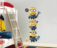 Minions Wall Decal #decal #gadget