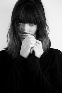 hugogreene: Louise Follain by Maxime Froge #eyes #portrait #photo #woman