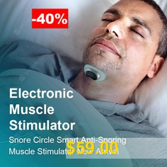 Snore #Circle #Smart #Anti #Snoring #Device #Muscle #Stimulator #Snore #Stopper