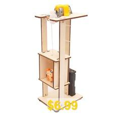 DIY #Elevator #Lift #Children #Science #Education #Toy #- #MULTI