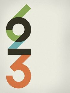 623 | Flickr - Photo Sharing! #typography #branding #color #numbers #nick tibbetts