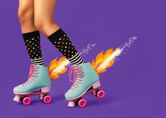 Hot Wheels Roller Disco by Ilka & Franz