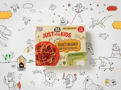 Morrisons Just for Kids on Packaging of the World Creative Package Design Gallery #packaging #illustration #childrens #food