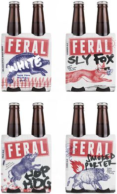 New Logo and Packaging for Feral Brewing Company by Block