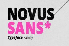 Novus Sans Typeface Family