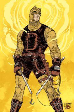 Daredevil #rafael #illustration #superheros #grampa #marvel #comics