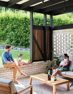 outdoor, Bligh Graham Architects