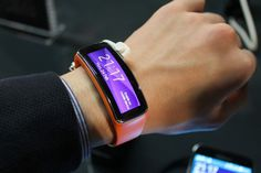 Samsung Gear Fit Fitness Tracker #tech #flow #gadget #gift #ideas #cool
