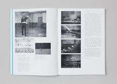 The Aesthetics of Randomness – Documentation   Alexander Lis #grid #layout #book #grey