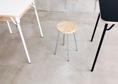 Stool by Mikiya Kobayashi #minimalist #design #minimal #stool
