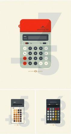 design work life » cataloging inspiration daily #calculator #illustration