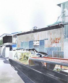 Megumi Aratame : Untitled | Artworks | Tokyo Illustrators Society (TIS) #aratame #tokyo #megumi #painting #society #illustrators