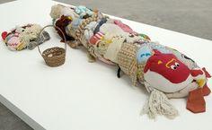 Jah Jah Sphinx #gallery #fabric #textile #art