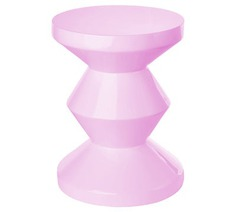 Made in Design - Zig Zag End table by Pols Potten - Light pink