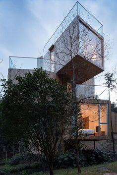 Tree House Hotel in China - Qiyunshan by Bengo Studio 11