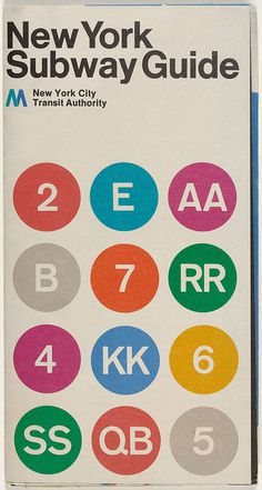 Cover of New York subway diagram designed in 1970. #poster #nyc #drawing #subway #vignelli