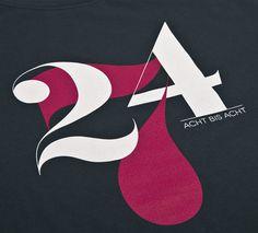 NATRI - 24/7 - T-Shirt (charcoal grey): TWENTY-FOUR-SEVEN - EIGHT TO EIGHT